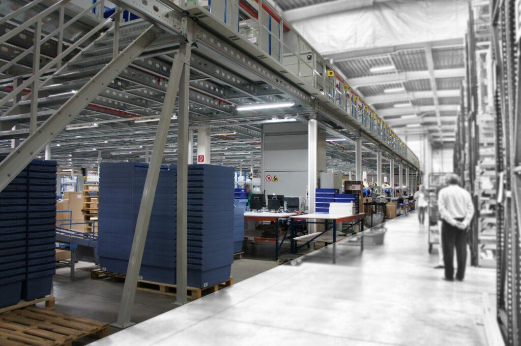 mezzanine voor magazijnen